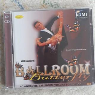 CD二枚組 ボールルームバタフライ 社交ダンス(クラブ/ダンス)