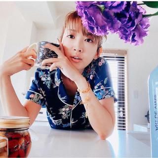 ケイタマルヤマ(KEITA MARUYAMA TOKYO PARIS)のGU  ケイタマルヤマ  コラボ 花柄パジャマ ルームウェア  新品 Lジーユー(パジャマ)