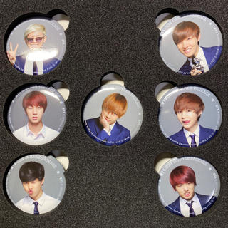 ボウダンショウネンダン(防弾少年団(BTS))の2014サマパケ 缶バッジ(K-POP/アジア)