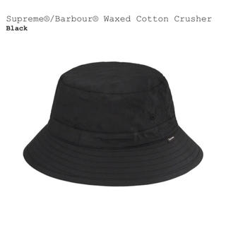 シュプリーム(Supreme)のSupreme Barbour waxed cotton crusher M(ハット)