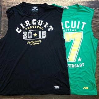 アディクテッド(ADDICTED)のM スペインゲイパーティGCIRCUIT 限定カットオフTシャツ二枚組(Tシャツ/カットソー(半袖/袖なし))