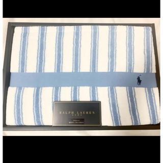 ラルフローレン(Ralph Lauren)の新品 RALPH LAUREN ラルフローレン タオルケット ブルー ラルフ(タオルケット)