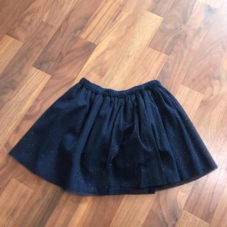 GAP - GAP 女の子 4歳 105cm ネイビーチュールスカート