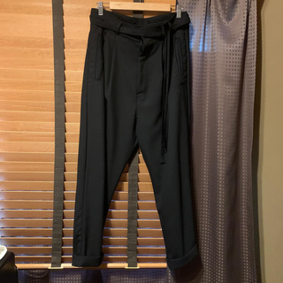 bed j.w ford black kanoko trousers 0サイズ(スラックス)