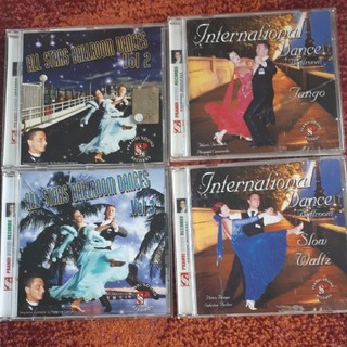 CD4枚セットです 社交ダンス(クラブ/ダンス)