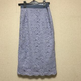 エムケーミッシェルクラン(MK MICHEL KLEIN)のミッシェルクラン レースタイトスカート (ひざ丈スカート)
