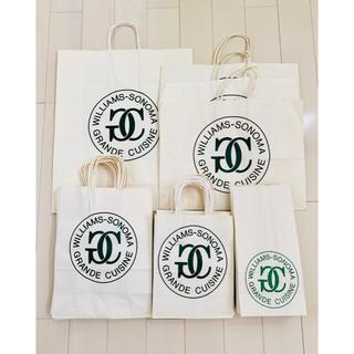 ウィリアムズソノマ(Williams-Sonoma)のウィリアムズソノマ 紙袋セット 64枚(収納/キッチン雑貨)