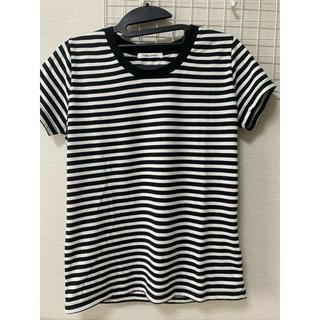 チュチュアンナ(tutuanna)のボーダーTシャツ(Tシャツ(半袖/袖なし))