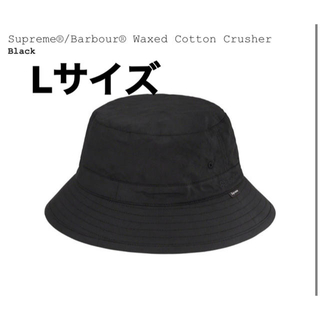 シュプリーム(Supreme)のsupreme barbour waxed cotton crusher L (キャップ)