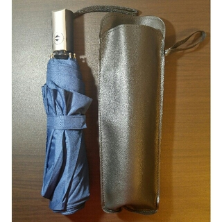 自動開閉式折りたたみ傘 ネイビー色(傘)