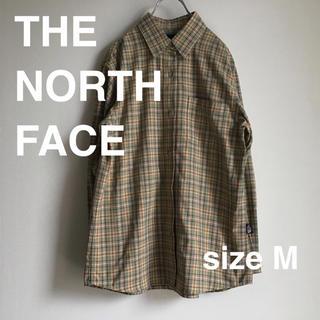 ザノースフェイス(THE NORTH FACE)のTHE NORTH FACE ザノースフェイス チェックシャツ M キャンプ(シャツ/ブラウス(長袖/七分))