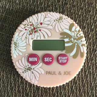 ポールアンドジョー(PAUL & JOE)の【使用あり】PAUL&JOE  キッチンタイマー(収納/キッチン雑貨)