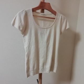 ウィルセレクション(WILLSELECTION)のウィルセレクション 半袖ニット オフホワイト 1 サイズS(Tシャツ/カットソー(半袖/袖なし))