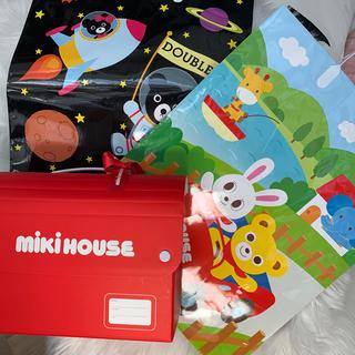ミキハウス(mikihouse)のミキハウス 袋と箱3点セット(ショップ袋)