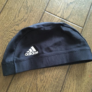 アディダス(adidas)のアディダス水泳帽(マリン/スイミング)