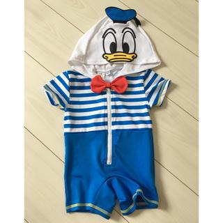 ディズニー(Disney)のドナルド 水着 ロンパース(水着)