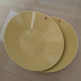 イッタラ(iittala)の新品 イッタラ ティーマ イエロー 21cm ボウル 2枚(食器)
