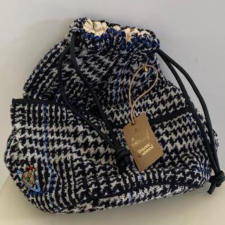 ヴィヴィアンウエストウッド(Vivienne Westwood)のVivienneWestwood 新品未使用 グレンチェック 巾着 bag(ポーチ)