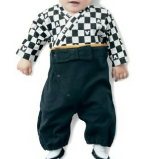 ベルメゾン(ベルメゾン)のミッキーの袴ロンパース(和服/着物)