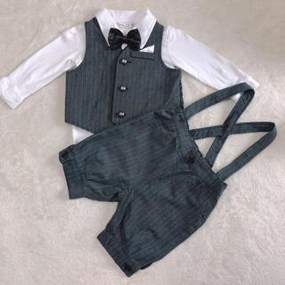 ニシマツヤ(西松屋)の子供服  男の子 フォーマルスーツ サイズ80(セレモニードレス/スーツ)