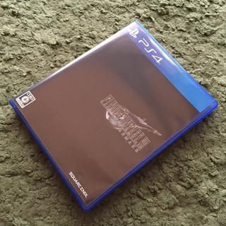 プレイステーション4(PlayStation4)の極美品 ファイナルファンタジーVII リメイク FF7 FF7R PS4(家庭用ゲームソフト)