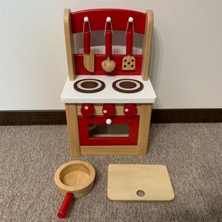 ボーネルンド(BorneLund)の美品 木製 キッチン ニチガン(その他)