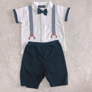 ニシマツヤ(西松屋)のキッズフォーマル半袖!(男の子)サイズ90(ドレス/フォーマル)