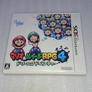 マリオ&ルイージRPG4 ドリームアドベンチャー 3DS(携帯用ゲームソフト)