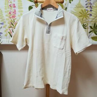 マックレガー(McGREGOR)の✨McGREGOR マックレガー 白色のジップアップ式ポロシャツLサイズ♪(ポロシャツ)