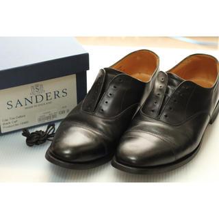 SANDERS - サンダース 28㎝ Cap Toe Oxford/Black(ブラック)