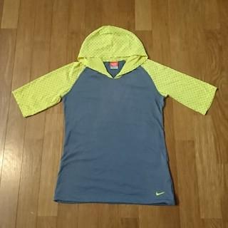 ナイキ(NIKE)のNIKE フード付きTシャツ(レディースS)(その他)
