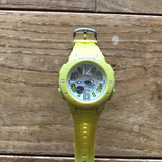 ベビージー(Baby-G)のBaby-G イエロー(腕時計)