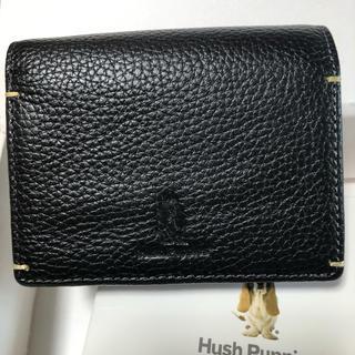 ハッシュパピー(Hush Puppies)のハッシュパピー    二つ折り財布    ブラック(折り財布)