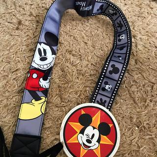 ディズニー(Disney)のミッキー カメラストラップ(ネックストラップ)