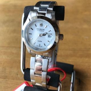スイスミリタリー(SWISS MILITARY)の【新品】スイスミリタリー 腕時計 レディース ML-102 クォーツ シルバー(腕時計)