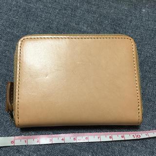 ムジルシリョウヒン(MUJI (無印良品))の無印良品  ヌメ革カードケース(財布)