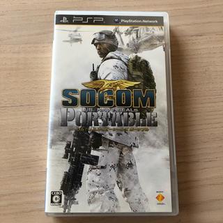 ソニー(SONY)のSOCOM(ソーコム): U.S.Navy SEALs Portable PSP(携帯用ゲームソフト)