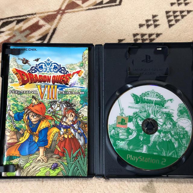 SQUARE ENIX(スクウェアエニックス)のドラゴンクエストVIII 空と海と大地と呪われし姫君 PS2 エンタメ/ホビーのゲームソフト/ゲーム機本体(その他)の商品写真