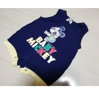 ディズニー(Disney)の90cm ディズニー、ミッキー 男の子ベビー服(その他)