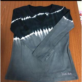 エルロデオ(EL RODEO)の新品未使用  Vita Lita ヴィータリータ 長袖カットソー フリーサイズ(カットソー(長袖/七分))