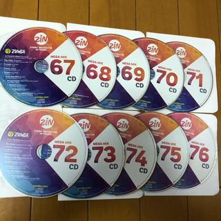 ズンバ(Zumba)のちょびさま専用♫  MEGAMIX  CD(クラブ/ダンス)