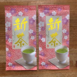 出来立て!新茶 特上 深蒸し茶 100g 2袋 〈普通郵便〉4,520円(茶)