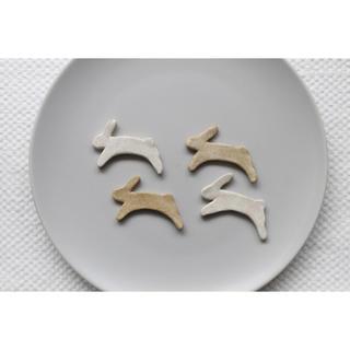 うさぎ 箸置き(カトラリー/箸)