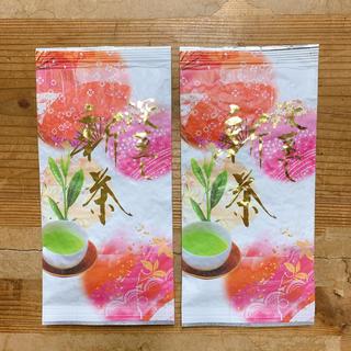 できたて!新茶 上 深蒸し茶 100g 2袋 〈普通郵便〉2,360円(茶)