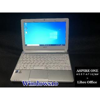 エイサー(Acer)のacer aspire one D257-A71C/WF カスタマイズ(ノートPC)