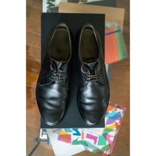 チャーチ(Church's)の【希少】JILSANDER × church's  コラボ 革靴  ブラック(ドレス/ビジネス)