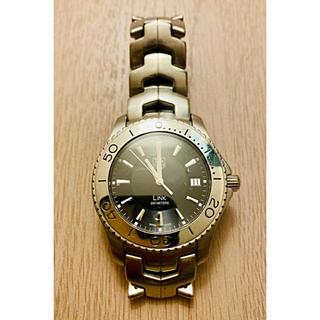 タグホイヤー(TAG Heuer)の【美品】TAG Heuer タグホイヤーLINK 黒文字盤 メンズ WJ1110(腕時計(アナログ))