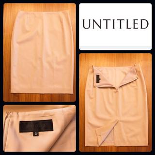 UNTITLED - UNTITLED スーツ上下 ジャケット&スカート