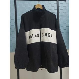 Balenciaga - 2020SS◇BALENCIAGA◇ナイロン ロゴ デニムジャケット