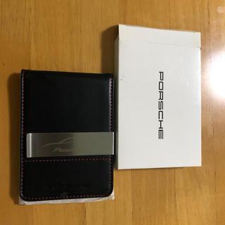 ポルシェ(Porsche)のPorsche カードケース(マネークリップ)